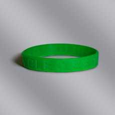 Green Reuse Recycle Silicone Bracelet