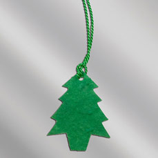 Color Floral Seed Paper Ornament - Christmas Tree (Imprint)