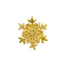 Small Snowflake Cast Stock Jewelry Pin