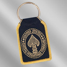"Embroidered Key Ring (3"")"