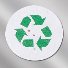 Floral Seed Paper Pop-Out Booklet - Recycle Emblem