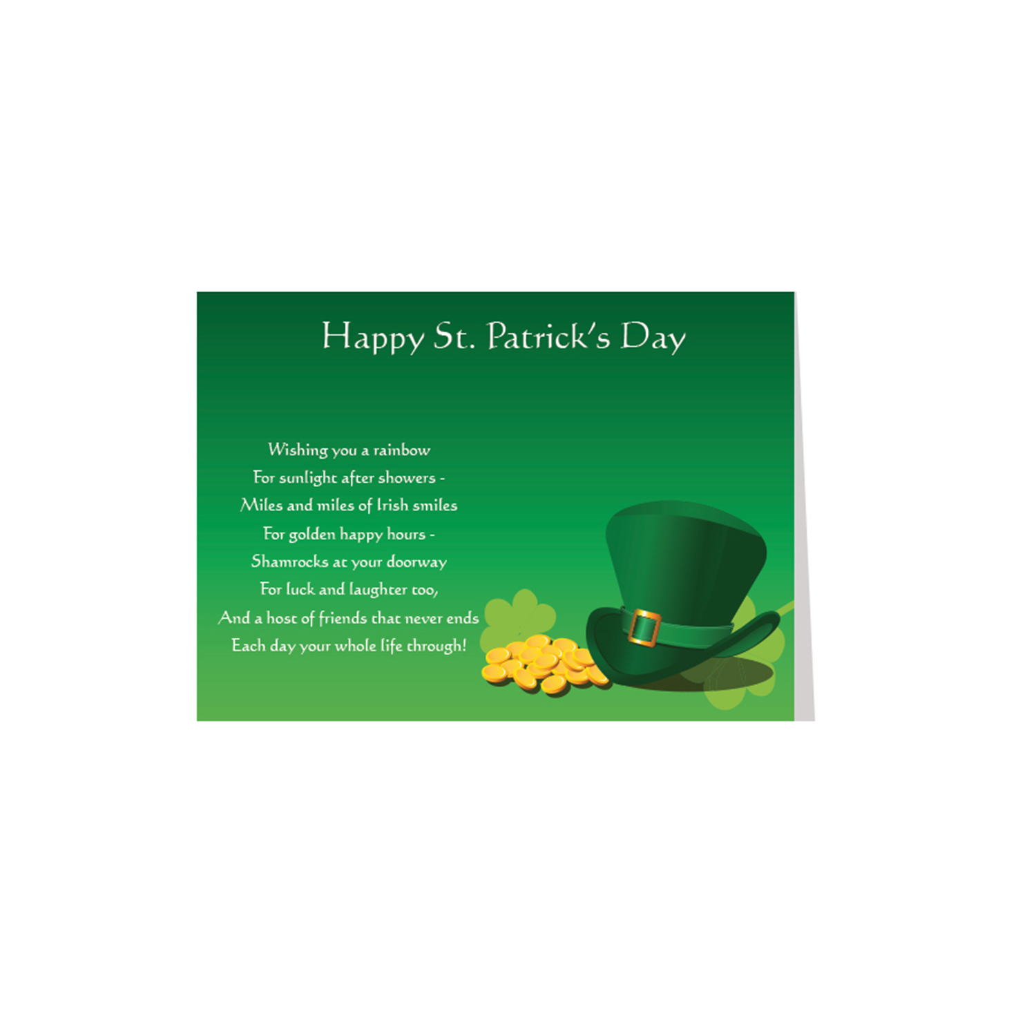 St Pat'S Day/Sm Leprechaun Hat